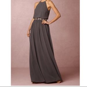 BHLDN Alana Maxi Dress by Donna Morgan WITH BELT